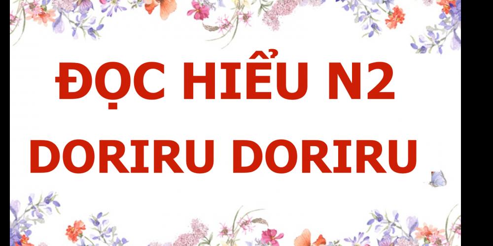DOC HIEU N2 DORIRU DORIRU